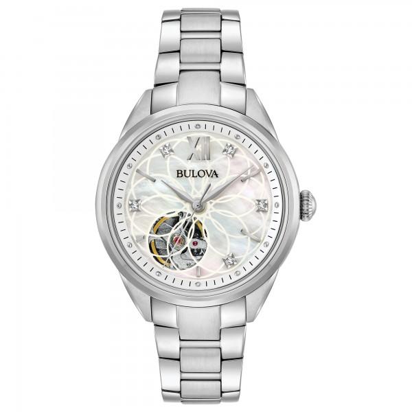 Relógio Bulova automático com Diamantes