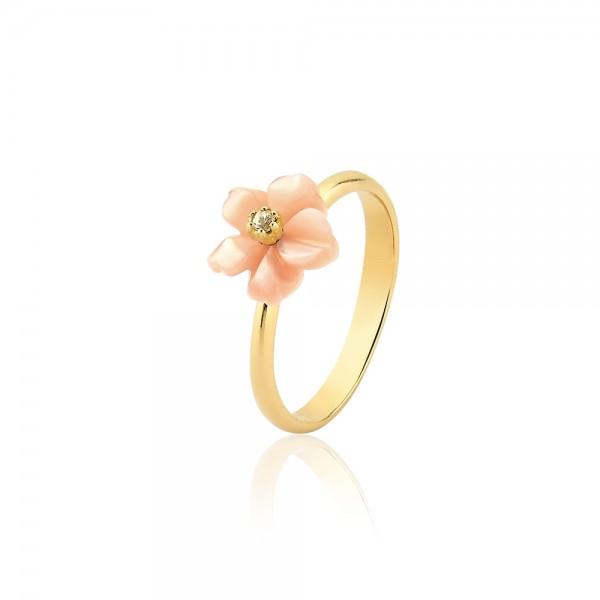 Anel flor Alegria